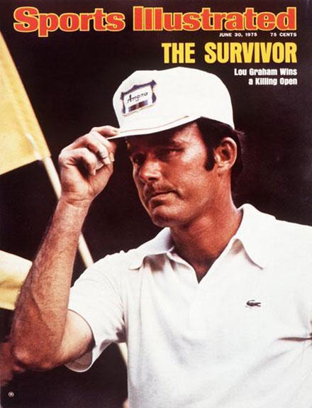 Lou Graham wins the 1975 U.S. Open at MedinahJune 30, 1975