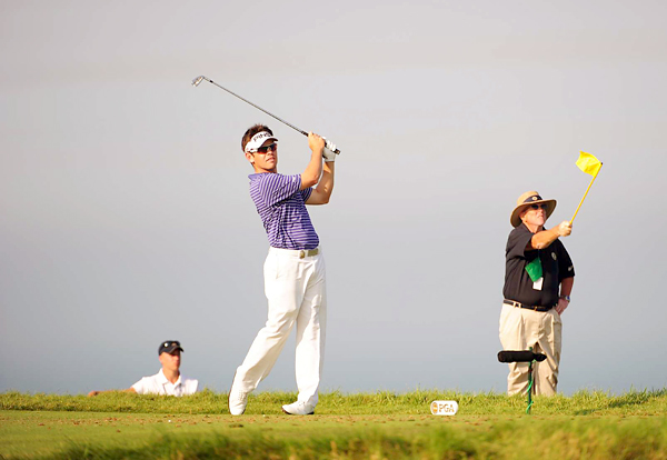 recent inspired play continued on Thursday at Whistling Straits.