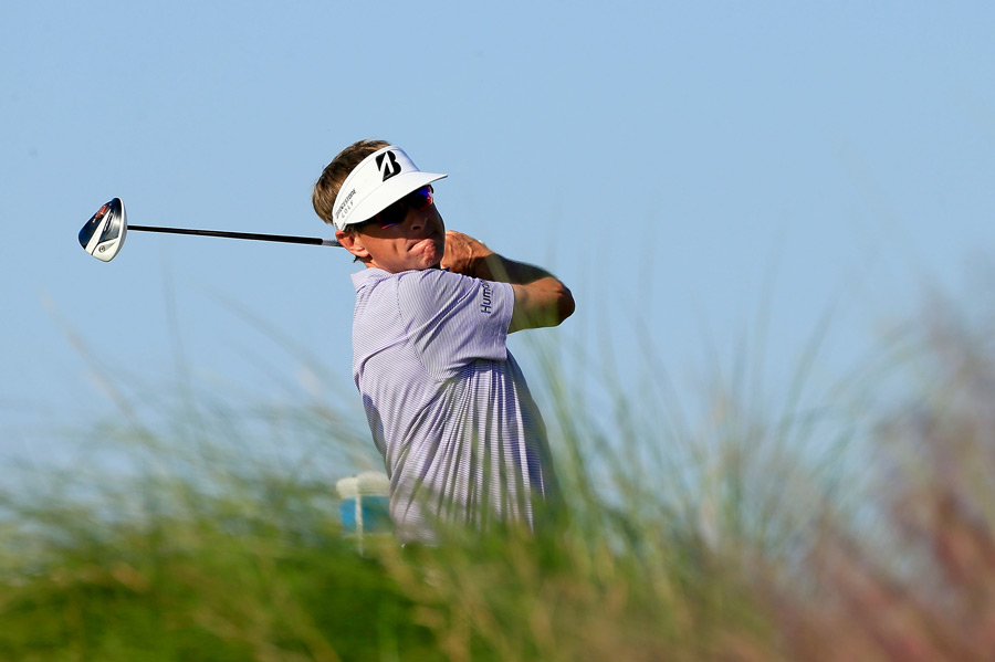Tournament host Davis Love III is only one stroke off the lead heading into the weekend.