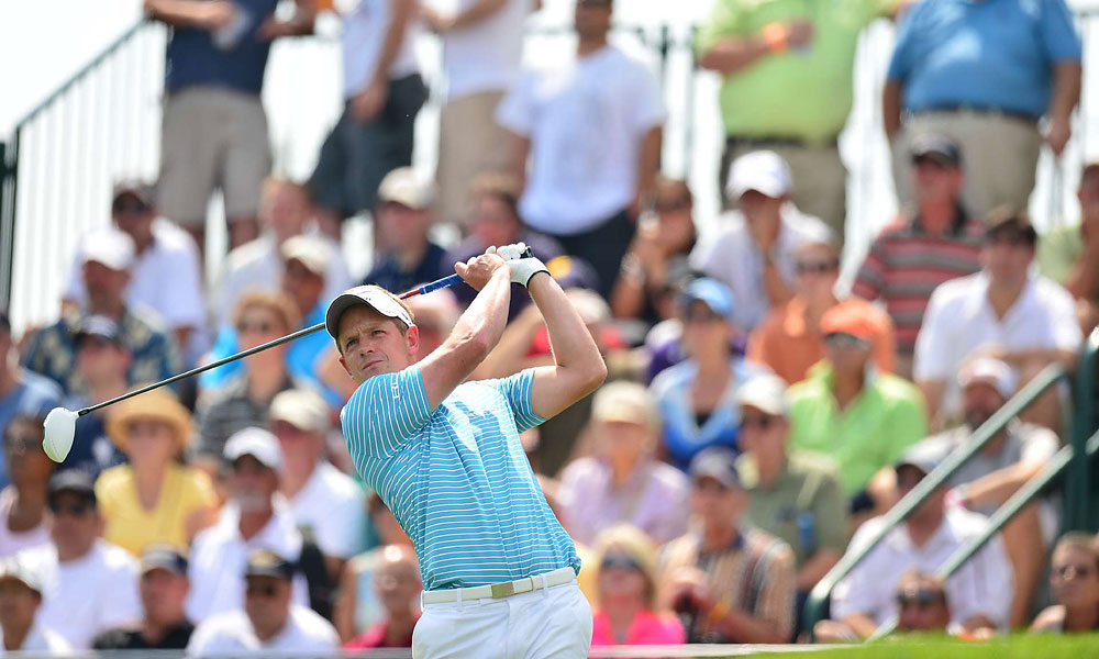 Luke Donald shot a 68 in his opening round at Bethpage. He finished tied for 10th.