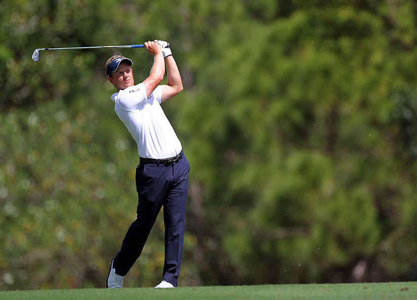 Luke Donald is back to playing like he did in 2011. Donald finished in the top 10 last week at Doral, and he's in contention again this week.