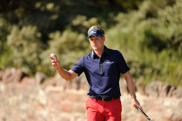 Luke Donald also missed the cut after rounds of 80-72.