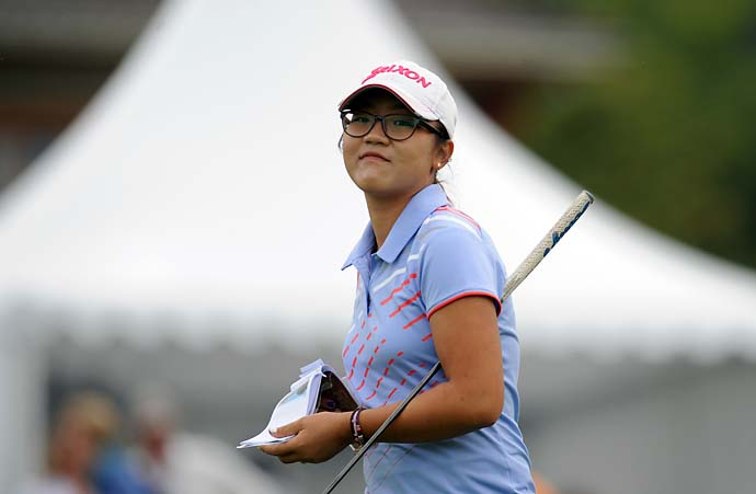 """""""It's secret. I got to get my mom's permission to say anything else.""""                     --16-year-old Lydia Ko on if she's going to announce that she's turning pro soon."""