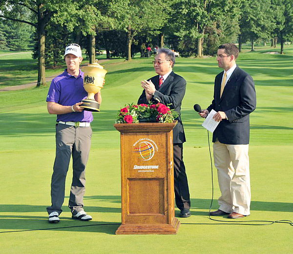 His win will give him confidence as he attempts to win his first career major at the PGA Championship this week.