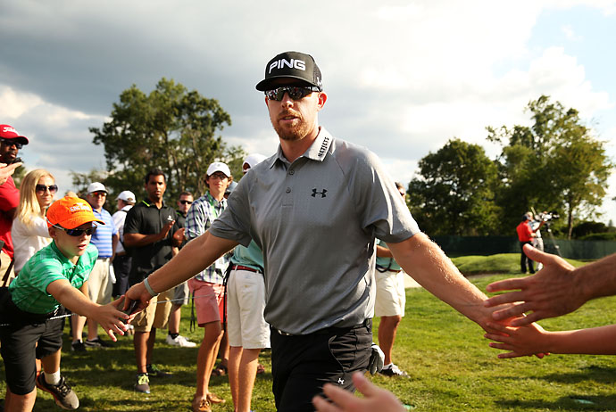 """I don't know if anyone has any really clue what maybe they are looking for.""                       --Hunter Mahan on whether winning The Barclays would help his chances of a wildcard pick for Tom Watson's U.S. Ryder Cup squad."