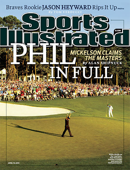 Phil Mickelson wins 2010 Masters April 19, 2010