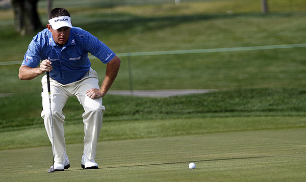 Lee Westwood was also one stroke behind Couples. He shot a first-round 65.