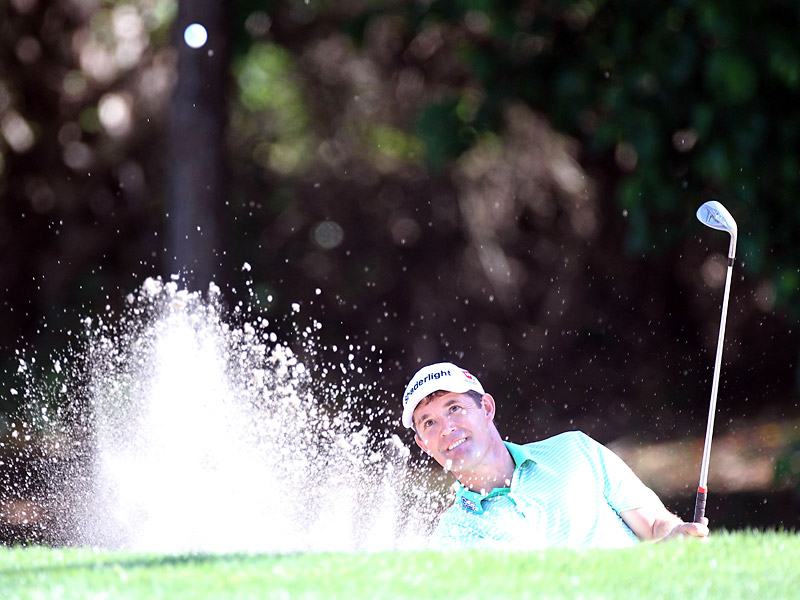 Harrington had no bogeys in his round and finished with three-straight birdies.