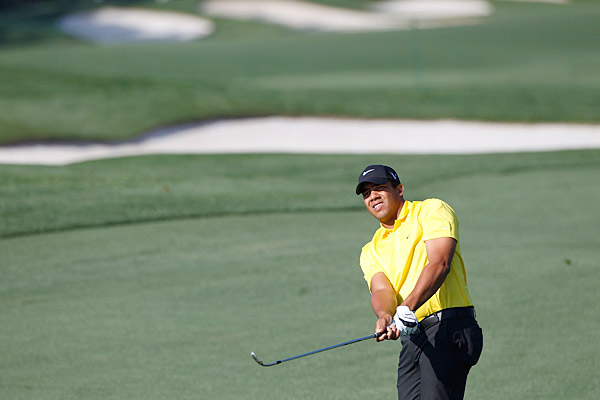 Jhonattan Vegas was one over on the day but remains in the top 10 of FedEx Cup rankings.