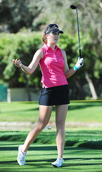 Gal is coming off her first LPGA victory at the Kia Classic last week.