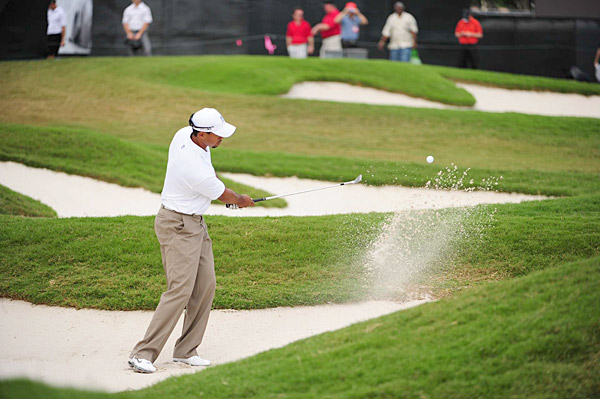 Woods will be paired with Phil Mickelson and Graeme McDowell in the first and second rounds.