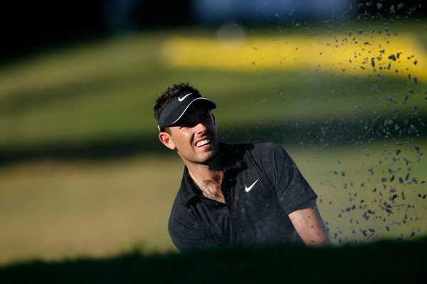 battled Els for most of the day, but he bogeyed two of the last four holes to finish second. It was Schwartzel's second straight top 10 at a World Golf Championship event.