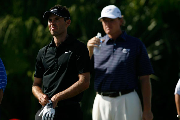 Schwartzel has been staying at Els's home while he's in the U.S.