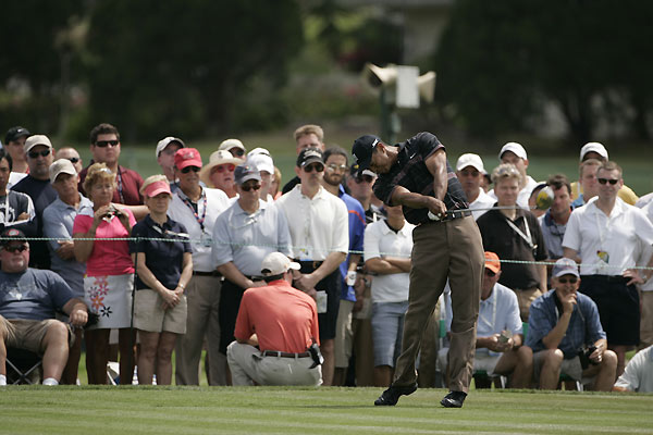Third Round of the Arnold Palmer InvitationalTiger Woods grabbed a share of the lead after a four-under 66.