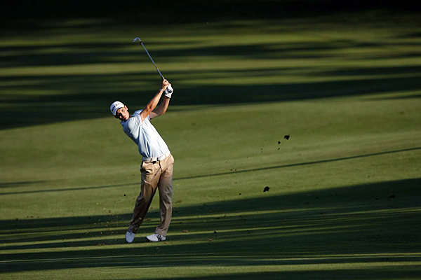 Martin Kaymer is in contention despite only shooting a 1-under 70.