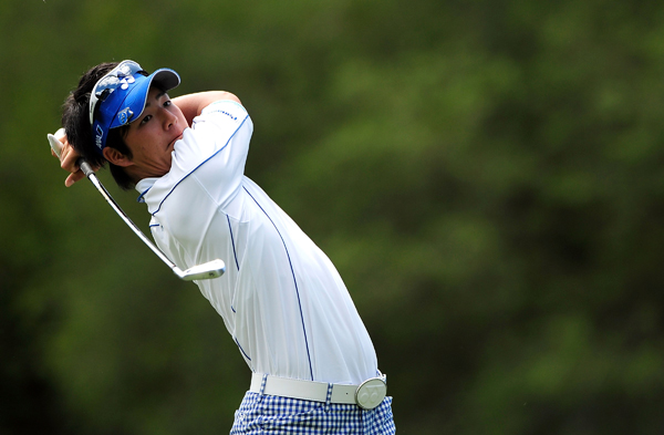 Ryo Ishikawa, 17, improved in his second Tour event with a 2-under 69.