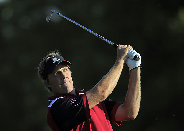 Stuart Appleby and Craig Parry were the only team from Isleworth not to earn any points. They lost to Justin Rose and Retief Goosen.