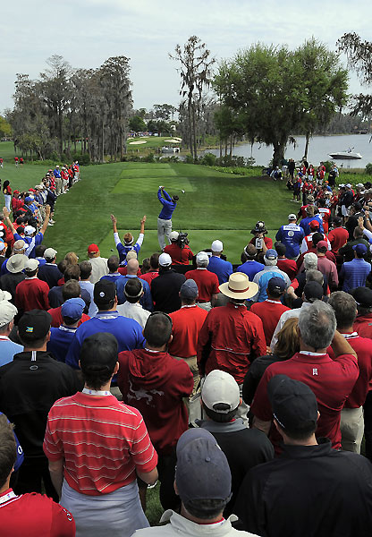 Ben Curtis and Ian Poulter lost by one to J.B. Holmes and Daniel Chopra.