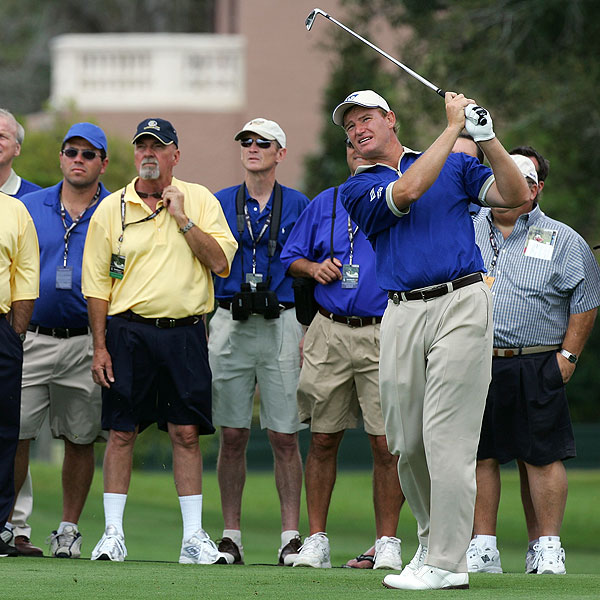Ernie Els, captain of the Lake Nona team, was among the star-studded field at the Tavistock Cup.