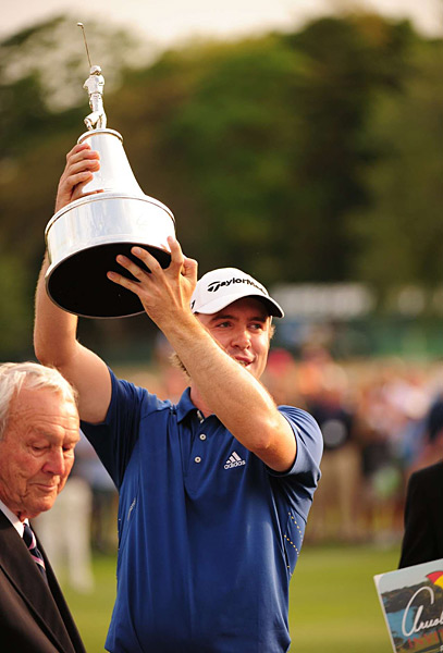 It was Laird's second PGA Tour victory of his career.