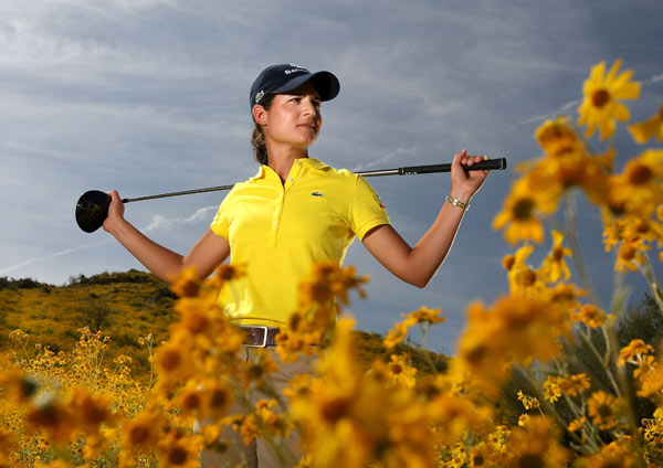 LPGA Portraits                       After winning eight tournaments in 2007, Lorena Ochoa has continued her winning ways this season. She won the HSBC Women's Champions by 11 shots over Annika Sorenstam.