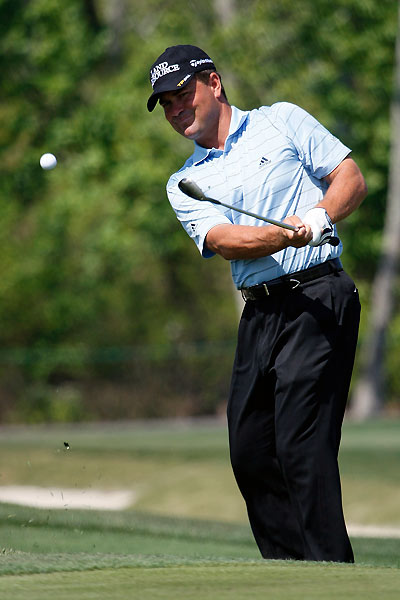 Jay Williamson made four birdies and no bogeys.