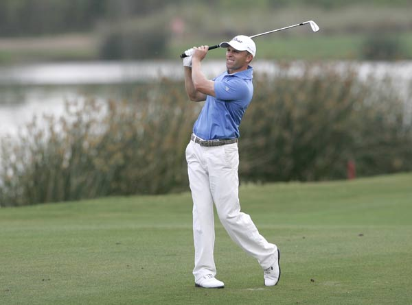 Tim Wilkinson, who shot a bogey-free 67 Sunday, finished two strokes off the lead.