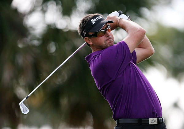 Second Round of the Honda Classic                       Robert Allenby made three birdies and a bogey for a 68.