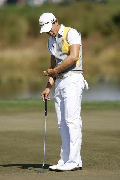 Villegas was never really in jeopardy of losing his lead, but he did miss several short putts for par.