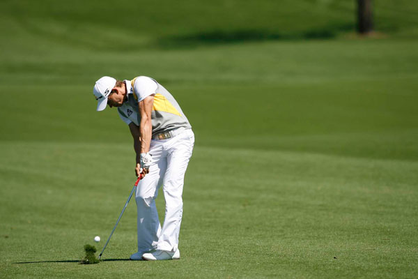 Villegas made birdies on Nos. 4, 8, 9 and 10 to open a big lead on the field.