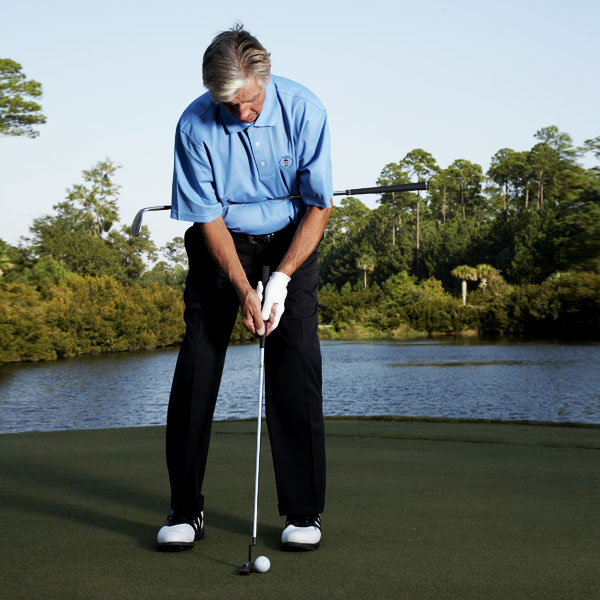 How to Practice a Perfect Stroke                       It takes ten minutes and an extra club to iron out the kinks in your motion                                              By Rick Barry                       Top 100 Teacher                                              The Problem                       Everything about your putting game has gone kaput. You hit short putts too far, and come up way short on longer attempts. Worse yet, your putts rarely roll smoothly on the ground — they spin, jump and hop on their way to missing left or right.                                              The Solution                       You can fix many of your putting stroke flaws by simply unifying your motion — in other words, by getting your shoulders, torso and hands working in unison and moving together, rather than as separate parts. To build this kind of stroke, try the following drills:                                              To Link Your Hands to Your Shoulders...                       Pin your sand wedge against the center of your torso using your elbows. Secure it by pressing your elbows into your sides (an important setup fundamental).