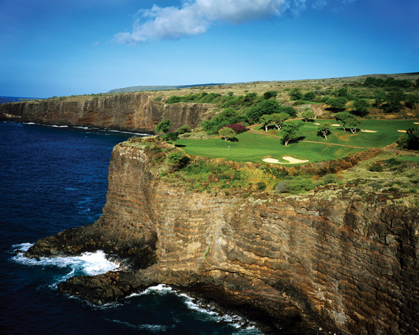 The Challenge at Manele                       Lanai, Hawaii                       $210-$235                       fourseasons.com/manelebay                                              Bill Gates chose the 12th tee box as his wedding site, which provides some idea of how spectacular this clifftop course on Lanai really is.