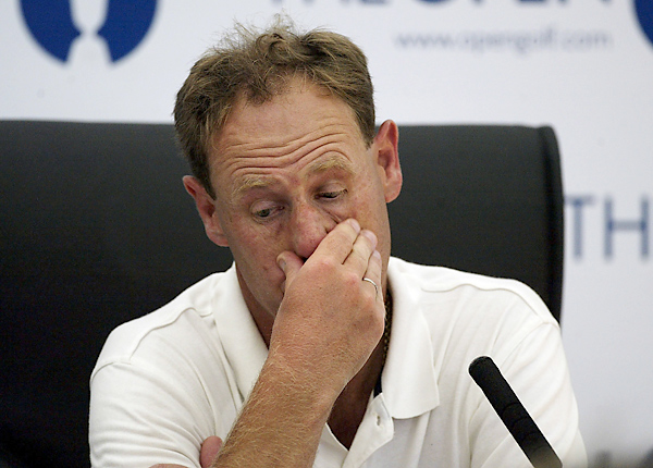 "After playing himself into contention at the 2003 British Open, Mark Roe was disqualified for not exchanging scorecards with playing partner Jesper Parnevik prior to the round. Parnevik, who was also disqualified, responded to the ruling saying, ""It's the dumbest rule I have ever heard of."""