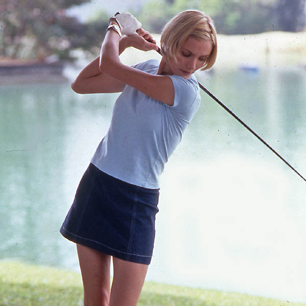 "TIP                     ""Don't talk in someone's backswing.""                      -Mary (Cameron Diaz), There's Something About Mary                                          CUT!                     OK, that's actually sound advice, but you can get away with mid-swing gamesmanship, says our mental-game consultant Richard Coop Ph.D.                                          TAKE TWO...                     Put a spring in your step, like the ""quick-steppers"" on Tour who start walking in their rival's downswing, he says. ""They do it once, and it's in the other guy's mind all day."""