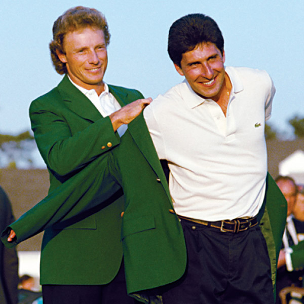 How to Wear the Green Jacket                                               You may never win one, but you can score this replica and be the coolest guy in kelly green. Here are two ways to rock the best accessory in golf (and one to never play in public).                                                                     WHO WORE IT BEST?                                                                     By pairing a crisp Lacoste polo and finely tailored black pants with his warm Mediterranean complexion that complemented Masters green, 1994 champ Jose Maria Olazabal showed American golf fans how the crest was worn.