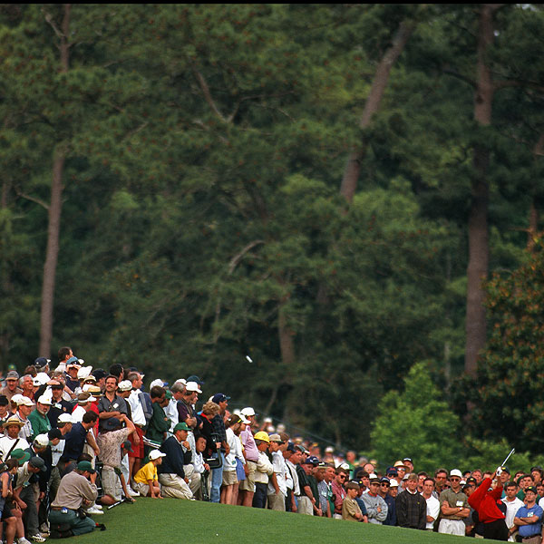 10 years ago: A Tiger is born                     While it's hard to remember the Masters without Tiger Woods, here, from the pages of our sister publication Sports Illustrated, is a decade-old snapshot of something you'll never forget: the nail-biting quiet before Tiger's first Masters as a professional in 1997, and the aftereffect of the most dominating performance ever seen up to that time in a major championship.