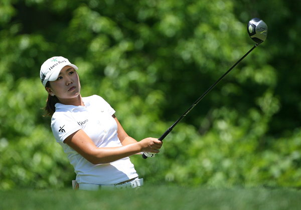In-Kyung Kim shot even par to finish second.