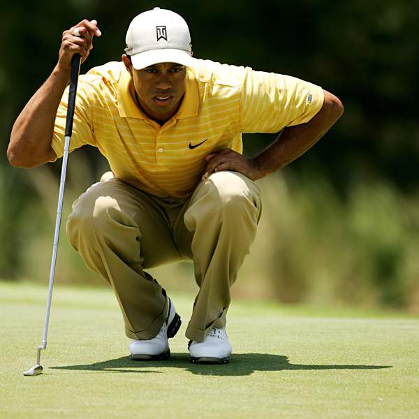 """I didn't really hit it all that good, certainly didn't make any putts again,"" Woods said."