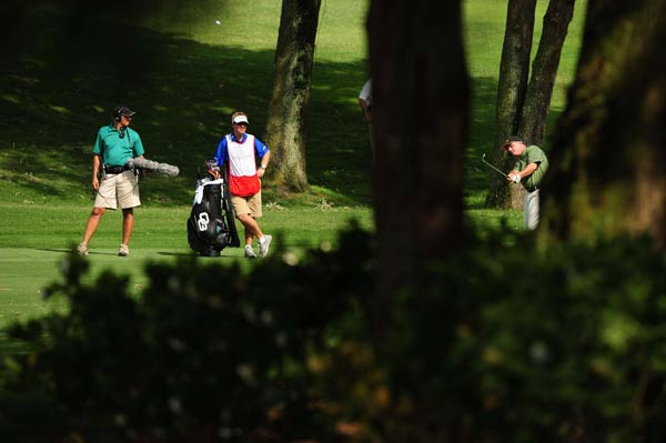 """We're not excited about bogeying the last hole or whatnot or hitting it in the water on the playoff hole,"" Goydos said. ""We're not excited about any of those things, but the reality of it is they happened and you need to learn and move on."""