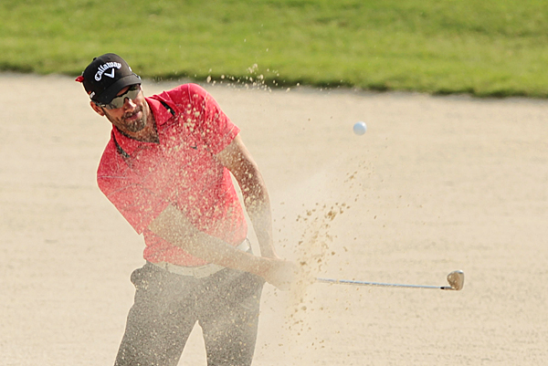 Alvaro Quiros bogeyed four of his last six holes for a 1-over 73.