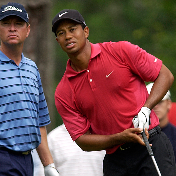 Woods was paired with Davis Love III on Sunday. Love shot 74 to finish seven over.                       • More on Tiger Woods                                              • Research and review Nike golf clubs