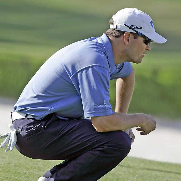Zach Johnson, the Masters champion, shot a bogey free 66 to move within three strokes.