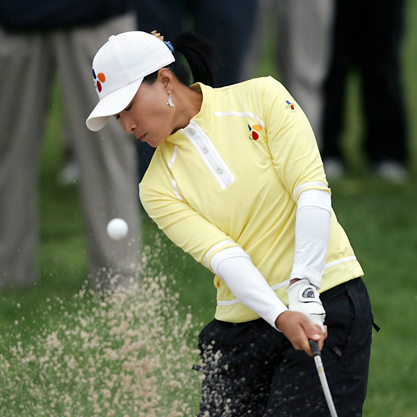 Se Ri Pak fell out of contention with a one-over 73.