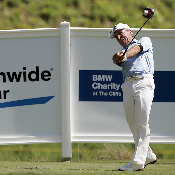 Hall-of-famer Gary Player is competing in the pro-am this week.