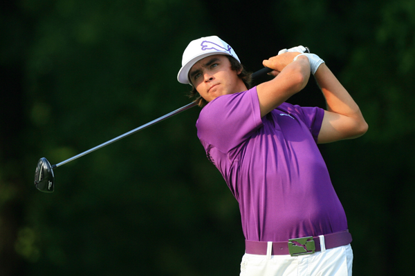 made five birdies and four bogeys for a 1-under 69.