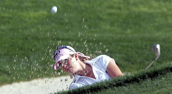 Paula Creamer, the highest-ranking player in the field this week, is at two under par.