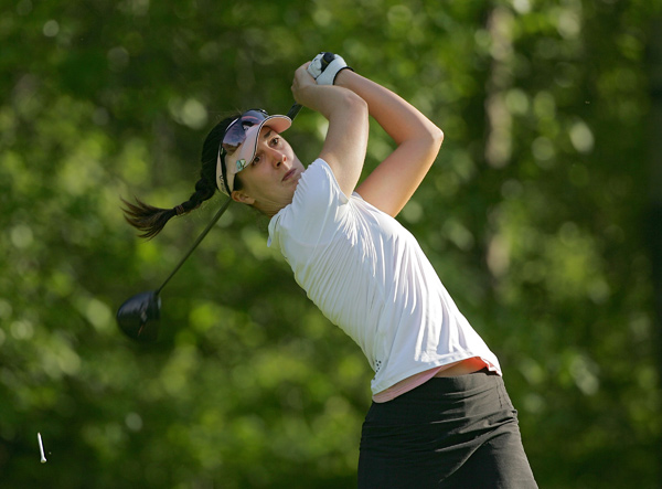 Sandra Gal shot a three-under 69.