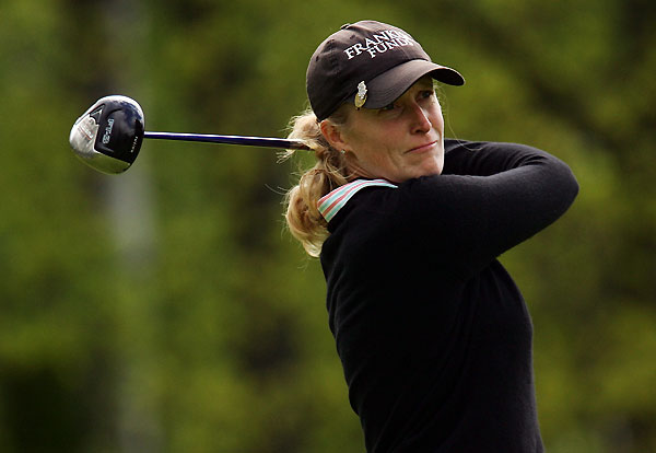 Janice Moodie made four birdies, two bogeys and an eagle.