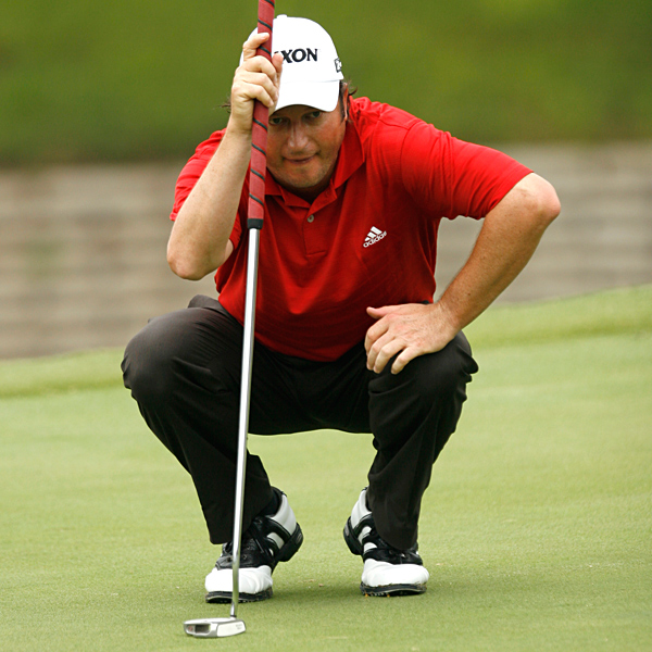 South Africa's Tim Clark set a blistering pace over the first 36 holes, going 65-64. It's especially remarkable when you consider his first round 65 included 3 bogeys. He holds a one-stroke lead going into Saturday.