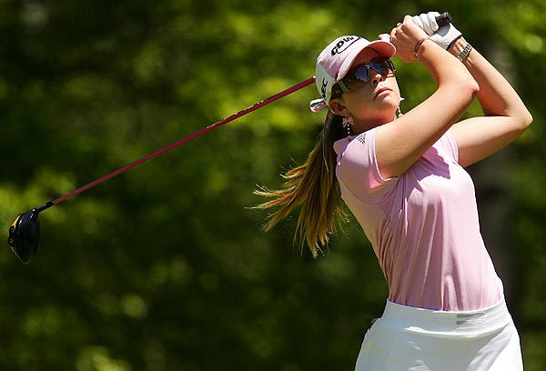 Paula Creamer, the highest-ranked player in the field, finished at four under par.